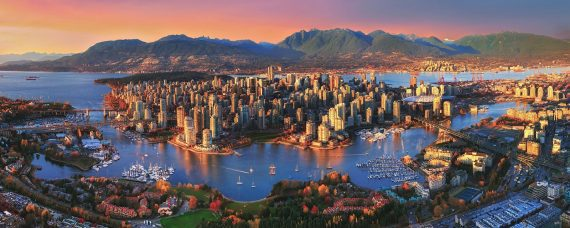 Drone Vancouver CBD