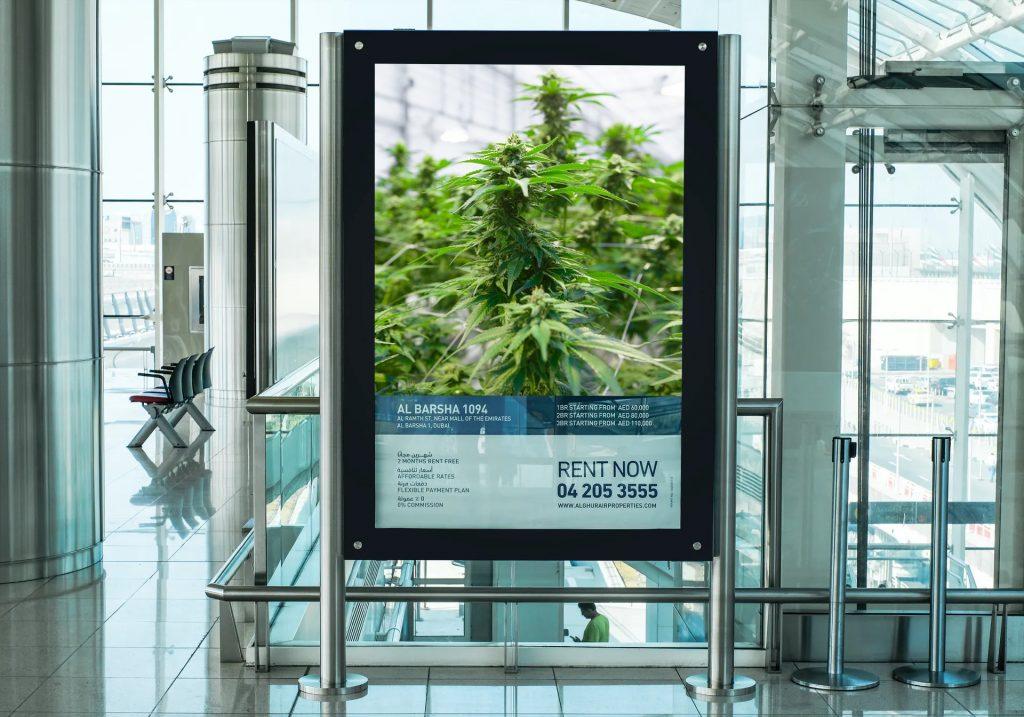 richardt thecbd cannabis ad airport