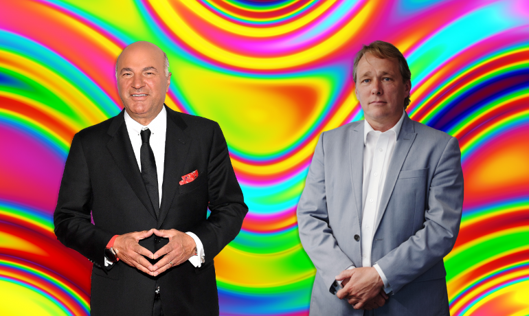 Kevin O'Leary and Ex-Canopy CEO Bruce Linton back a Psychedelics Startup