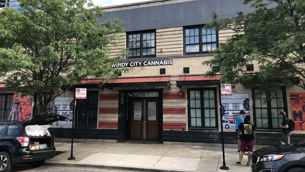 Windy City Cannabis Chicago Storefront