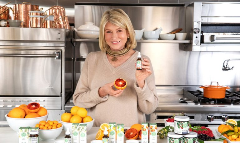 Martha Stewart's New CBD Line Will Feature Her Own Recipes